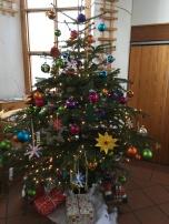 Unser kunterbunter Wilde Wiese Weihnachtsbaum